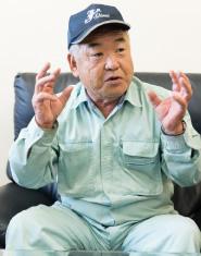 JAしおさい ピーマン部会 部会長 菅野一夫さん